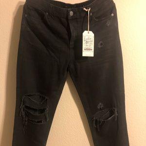 Lucky Brand distress dark denim Jeans